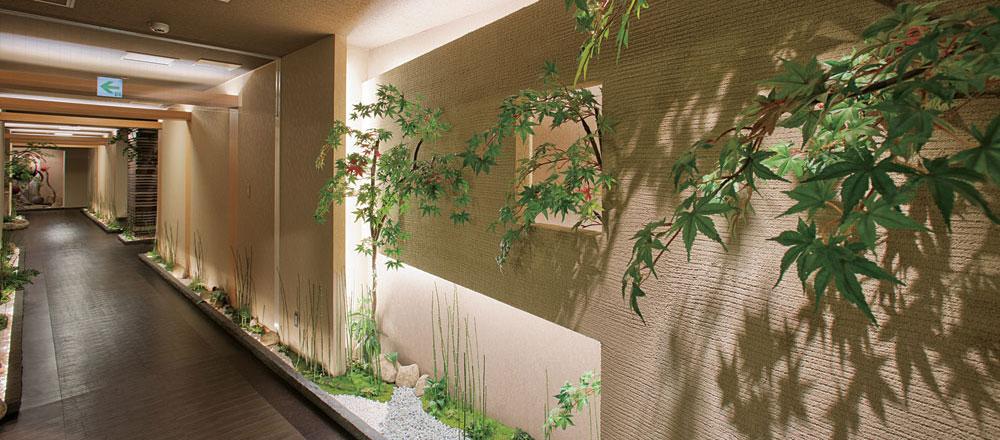 Japanese Plaster Hallway